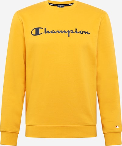 Champion Authentic Athletic Apparel Sweater majica u žuta / crna: Prednji pogled