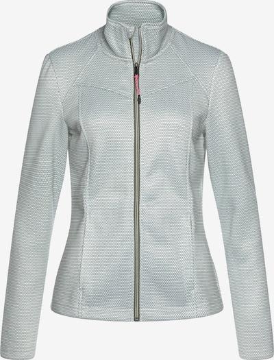 KILLTEC Jacke in pastellgrün / weiß, Produktansicht