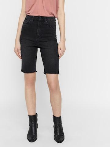 VERO MODA Jeans 'LOA FAITH' in Zwart