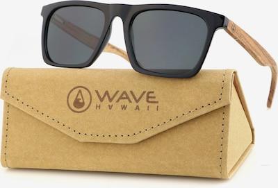 Wave Hawaii Sonnenbrille ' Tobo ' in beige / schwarz, Produktansicht