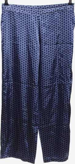 Marks & Spencer Stoffhose in XL in blau / weiß, Produktansicht