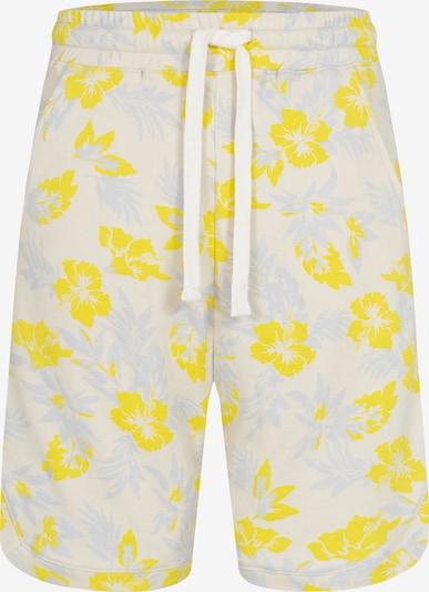 Ordinary Truffle Shorts 'OZ' in creme / pastellblau / gelb, Produktansicht