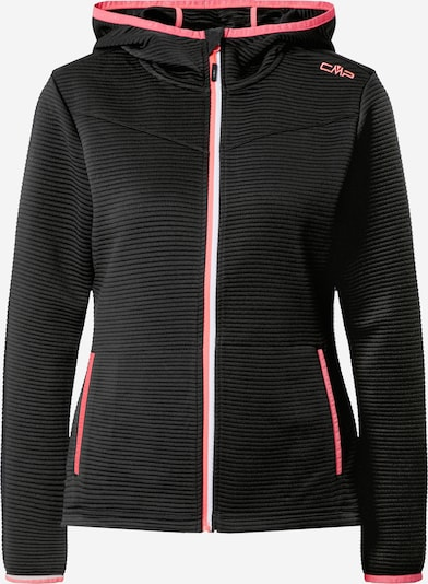 CMP Functional fleece jacket in anthracite / pink / white, Item view