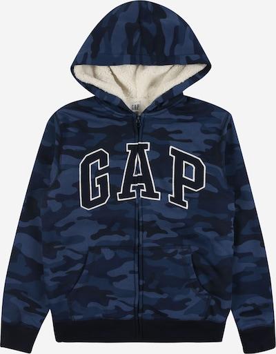 GAP Sweatvest in de kleur Blauw / Donkerblauw / Wit, Productweergave