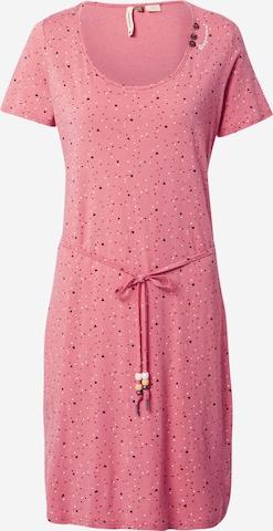 Ragwear Jurk 'PELIADA' in Roze
