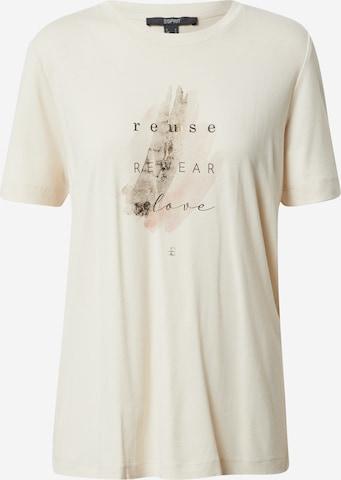 Esprit Collection T-Shirt in Beige