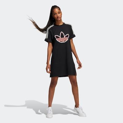 ADIDAS ORIGINALS T-Shirt-Kleid 'Love Unites' in mischfarben / schwarz, Modelansicht