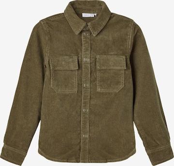 NAME IT - Camisa 'Bato' en verde