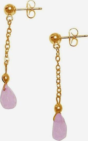Gemshine Ohrringe in gold / pink, Produktansicht