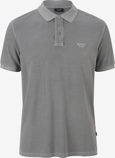 JOOP! Poloshirt 'Ambrosio' in rauchgrau / weiß, Produktansicht