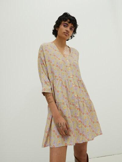 EDITED Robe 'Marisa' en mélange de couleurs, Vue avec modèle