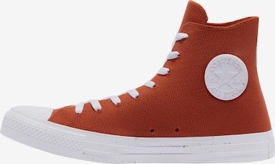CONVERSE Augstie brīvā laika apavi 'Chuck Taylor', krāsa - oranžsarkans / balts, Preces skats