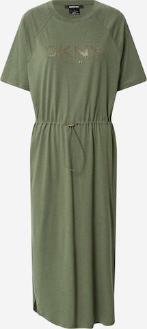 Robe DKNY en vert