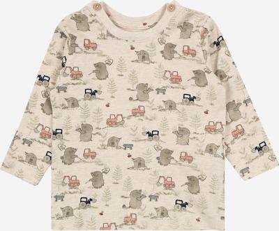 NAME IT Shirt 'DITOM' in beige / grau / pastellrot, Produktansicht
