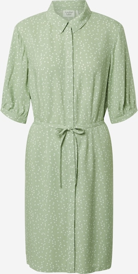 Another Label Kleid 'Sagine' in pastellgrün / weiß, Produktansicht