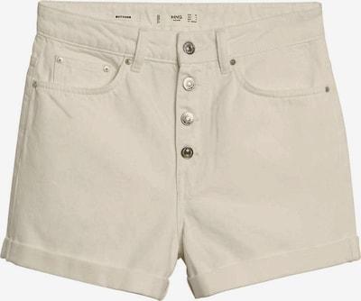 MANGO Pantalon en beige, Vue avec produit