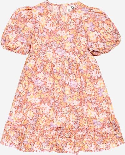 Cotton On Kleid 'MIKA' in gelb / pastellgelb / lila / pastellrot / weiß, Produktansicht