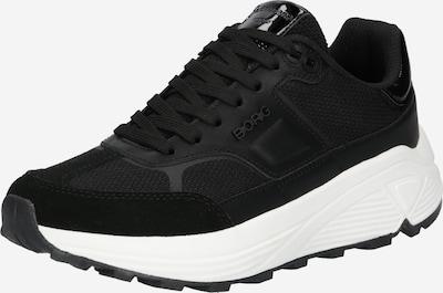BJÖRN BORG Zapatillas deportivas bajas en negro / blanco, Vista del producto