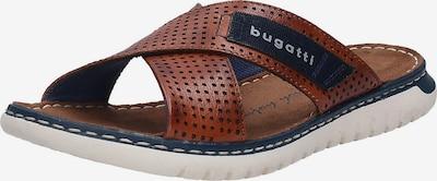 bugatti Zapatos abiertos 'Idaho' en azul oscuro / marrón, Vista del producto