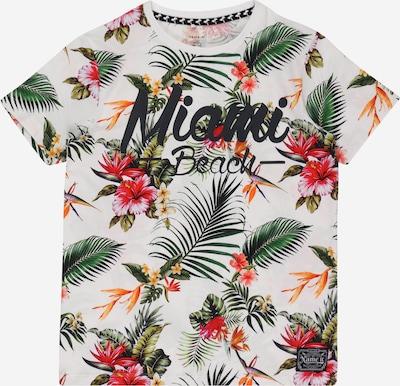 Maglietta 'FALKBERG' NAME IT di colore abete / arancione / rosa / bianco, Visualizzazione prodotti