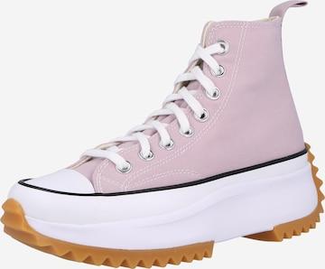 CONVERSE Kõrged ketsid 'RUN STAR HIKE', värv roosa