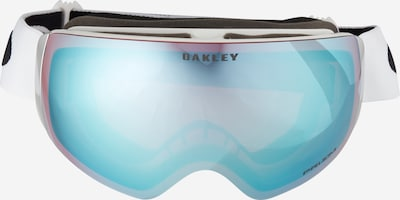 OAKLEY Sportbril 'Flight Deck' in de kleur Saffier / Wit, Productweergave