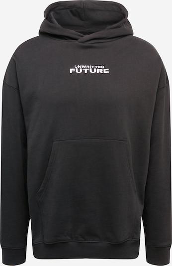 Rethink Status Sweat-shirt en noir / blanc, Vue avec produit