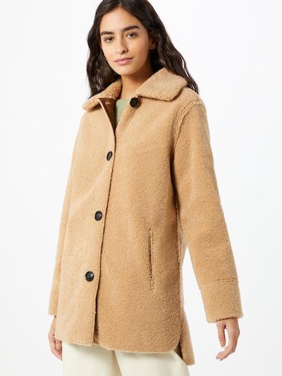 SET Mantel in camel, Modelansicht