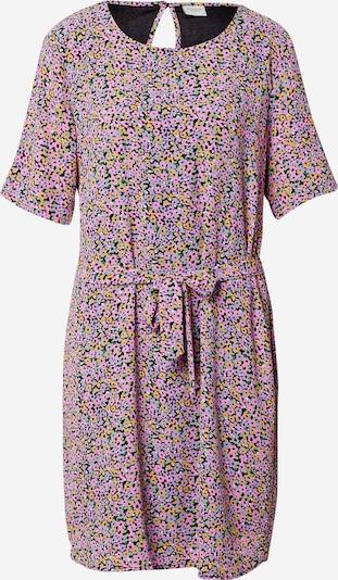 JDY Robe d'été 'AMANDA' en jaune pastel / menthe / lilas / rose clair / noir, Vue avec produit