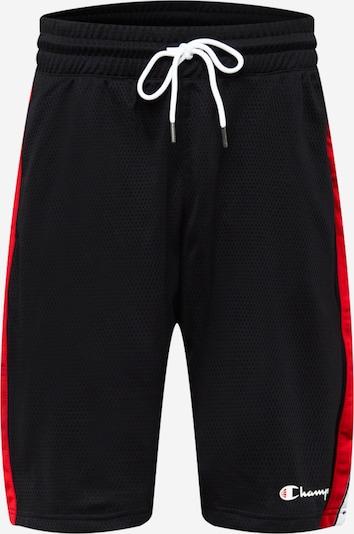 Champion Authentic Athletic Apparel Nohavice - ohnivo červená / čierna / biela, Produkt