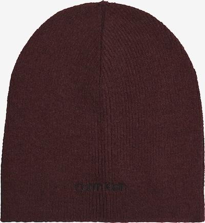 Calvin Klein Mütze in bordeaux, Produktansicht
