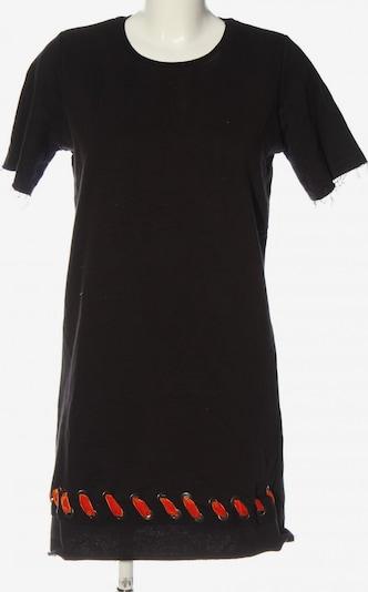 Trendyol Kurzarmkleid in M in hellorange / schwarz, Produktansicht
