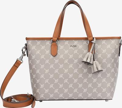 JOOP! Handbag in Brown / Light grey / White, Item view