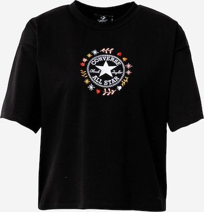 CONVERSE T-Shirt in mischfarben / schwarz, Produktansicht