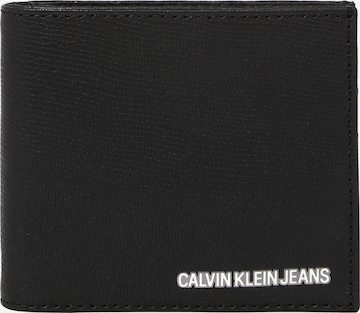 Calvin Klein Jeans Rahakott, värv must