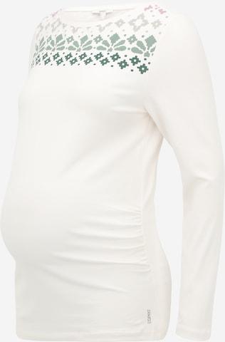Esprit Maternity Тениска в бяло