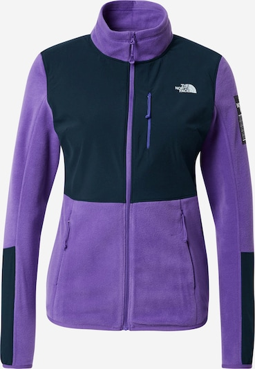 THE NORTH FACE Funktionsfleecejacka 'DIABLO' i mörkgrå / lila, Produktvy