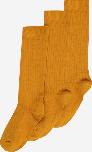 mp Denmark Socks 'DITITALIS' in gold yellow, Item view