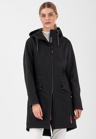 Fuchs Schmitt Between-Seasons Coat 'CITY' in Black