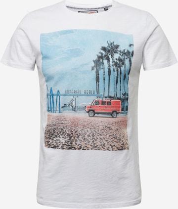 Petrol Industries T-Shirt in Weiß