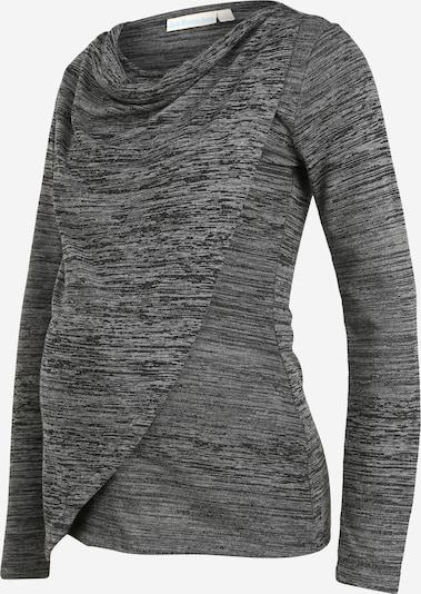 JoJo Maman Bébé Shirt in dunkelgrau / graumeliert, Produktansicht