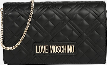 Love Moschino Pidulik käekott, värv must
