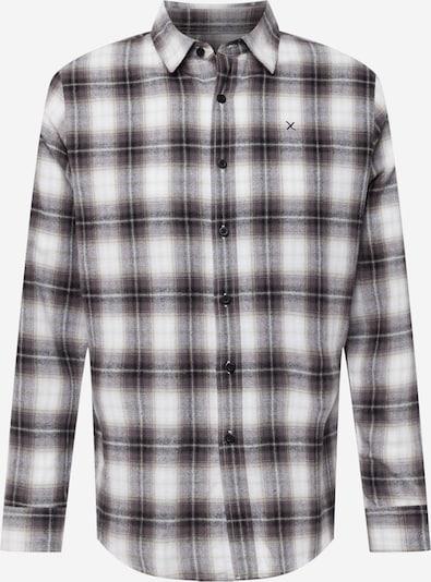 Clean Cut Copenhagen Camisa en gris / antracita / blanco, Vista del producto