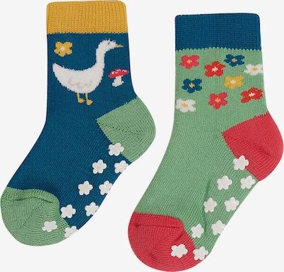 Frugi Socken 'GRIPPY' in grün, Produktansicht