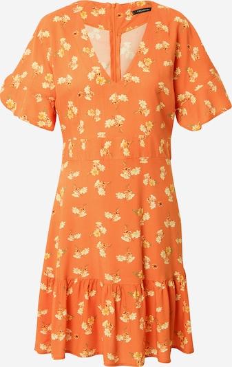 Trendyol Kleid in gelb / grasgrün / orange / weiß, Produktansicht