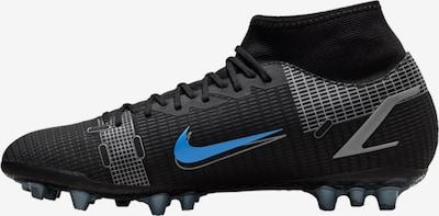 Ghete de fotbal 'Mercurial 8 Academy' NIKE pe albastru / negru / argintiu, Vizualizare produs