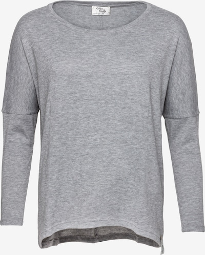 Cotton Candy Langarmshirt 'Bente' in graumeliert, Produktansicht