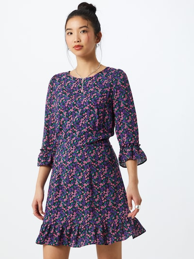 Suknelė 'Ditsy' iš Miss Selfridge , spalva - purpurinė / mišrios spalvos: Vaizdas iš priekio