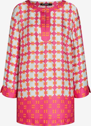 Ana Alcazar Tunika ' Cearas ' in gelb / mint / pink, Produktansicht