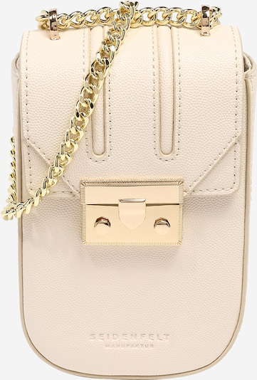Seidenfelt Manufaktur Crossbody bag 'ROROS' in Cream / Gold, Item view